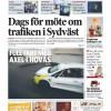 Artikel i Tidningen Sydväst