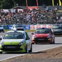 Tuffa race och många omkörningar i Karlskoga