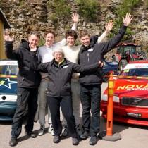 Nova Racings första seger i VolvoCupen!