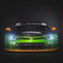 Edvin Hellsten klar för start i V8 Thunder Cars 2018!