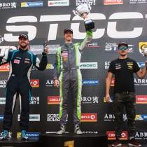 Edvin Hellsten tog sin första seger i V8 Thunder Cars!
