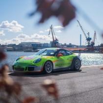 Årets Porschedesign i samarbete med Ackert Reklam