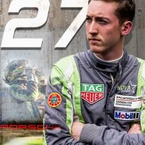 Edvin Hellsten redo att utmana eliten i Porsche Carrera Cup Scandinavia 2020